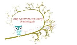 Copy of Copy of Larawan ng Isang Konsyumer
