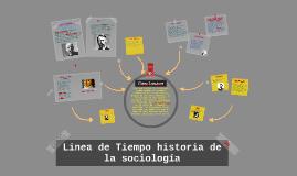 linea de tiempo historia de la sociologia