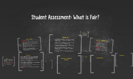 Student Assessment: What is Fair?