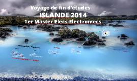Voyage de fin d'études Islande