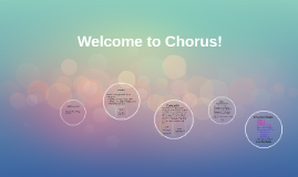 Introduction to Chorus