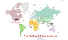 Promoting Development - Aid