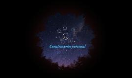 Construcción personal
