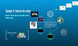 Equipo 3: Sensor de color