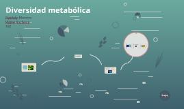 Diversidad metabólica