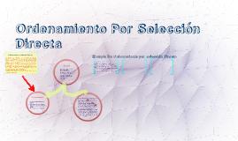 Copy of Ordenamiento Por Selección Directa