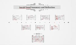 Surah Yusuf Summary and Reflection