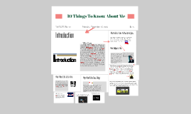 10 Things To