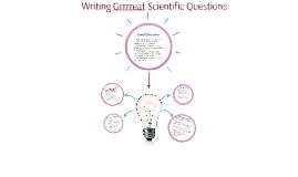 Refining Scientific Questions
