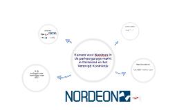 Kansen voor Nordeon in de parkeergaragemarkt in Duitsland en
