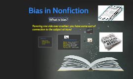 Bias in Nonfiction