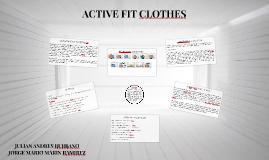 Active fit clothes