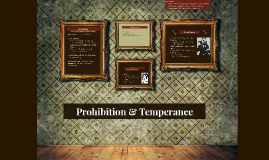 Prohibition & Temperance