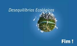 Desequilibrios Ecologicos