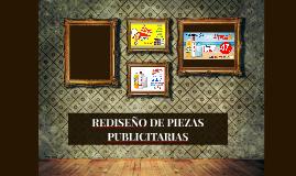 REDISEÑO DE PIEZAS PUBLICITARIAS
