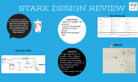 STARK DESIGN REVIEW