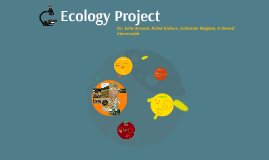 Ecology Project