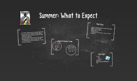 Summer: What to Expect