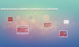 Radiaţiile nucleare sunt formate din: