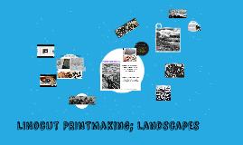 printmaking (gr. 9/10)