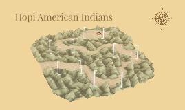 Hopi American Indians