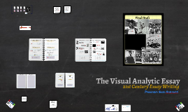 The Visual Analytic Essay
