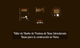 Bases para la construcción de Items