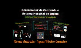 Site, Gerenciador de Conteúdo e Sistema Hospital de Ensino