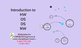 Copy of Introduction to HW OS DS NW