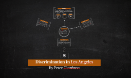 Discrimination in Los Angeles