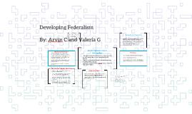 Developing Federalism