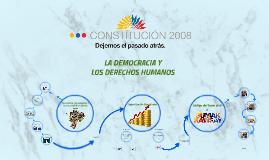 LA DEMOCRACIA Y LOS DERECHOS HUMANOS