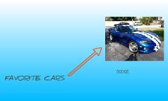 FAVARITE CARS