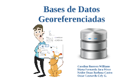 Copy of Bases de Datos georeferenciada