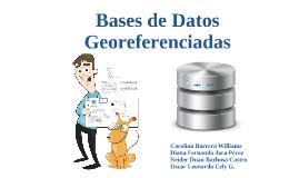 Copy of Bases de Datos georeferenciada