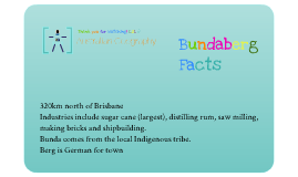 Changing Australian Communities - Bundaberg