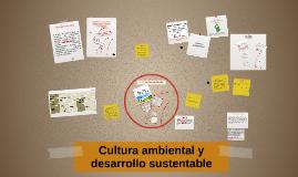 Cultura ambiental y desarrollo sustentable