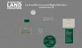 land and environmental defender is any person who takes peac