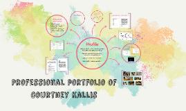 Professional portfolio of Courtney Kallis