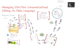 Rosanna's Plain Language Prezi
