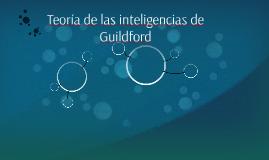Teoría de las inteligencias de Guildford