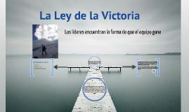 LEY DE LA VICTORIA