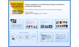Screen Industries in East-Central Europe Conference