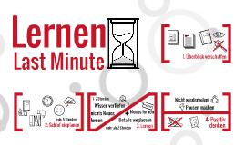 Lernen - Last Minute