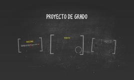 PROYECTO DE GRADO