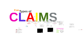 ENF3 5 Types of Claims