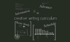 Creative Writing Curriculum