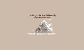 Climbing to the Top of Philosophy
