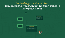 Technology in Education:
