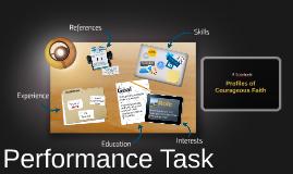 Grade 7 Performance Task